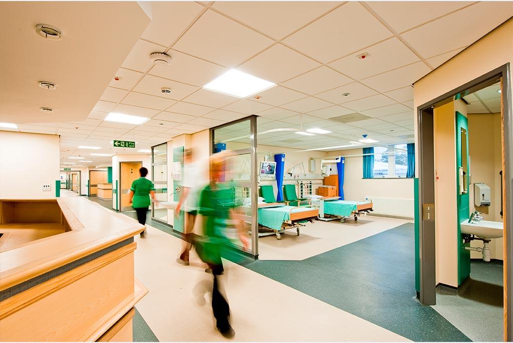 Desinfección aire por UVC hospitales
